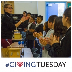 #GivingTuesday - Make music a part of every child's education!