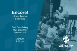 Encore! zSharp Teacher Showcase Fundraiser